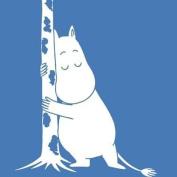 Moomin Hand Towel Hugging Moomin