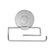 Everloc 99025 Chrome Xpressions Suction Cup Toilet Roll Holder
