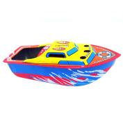 Jspoir Melodiz Candle Boat Tin Toy Nostalgia Iron Candle iron boat