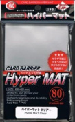 KMC Sleeves HM1515 Deck Protectors Hyper Matte Clear, Pack - 80