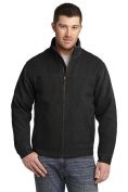 CornerStone CSJ40 Mens Washed Duck Cloth Flannel-Lined Work Jacket Black - 2XL