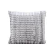 DATEWORK Plush Pillow Case Sofa Waist Throw Cushion Cover