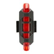 NEW Cycling 5 Pcs LED USB Bicycle Tail Warning Light,Tuscom@ Rechargeable Bike