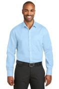 Red House RH80 Mens Slim Fit Non-Iron Twill Shirt Heritage Blue - 4XL