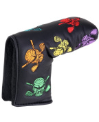 Tattoo Golf Blade Putter Cover with crazy skull design