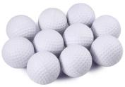 C-Pioneer 10 Pack PU Foam Golf Practise Balls Elastic Sponge Indoor Practise Training Balls