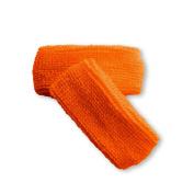 Couver unisex 2.5cm thin cotton terry wrist sweatbands
