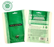 Whamisa Organic Real KELP Facial Mask Sheet - 35g (x 2 sheets) / EWG Verified(tm) For Your Health