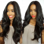 Kerry Silk Top Full Lace Wigs Brazilian Hair Glueless Silk Base Lace Front Wigs Natural Hairline for Black Women