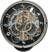 Rhythm 4MH886WD02 Gadget Magic Motion Clock Black