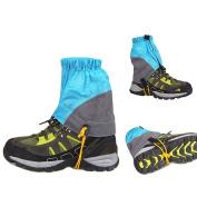 AMYIPO Unisex Ultra-Light Trail Snow Leg Gaiter Shorter Hiking Boots Gaiters Waterproof Gaiters