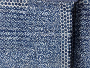 Indigo colour Hand Block Printed Kantha Quilt, Queen Size Patchwork Cotton Bedspread, Made By Artisians Of India by TRADE STAR EXPORTS