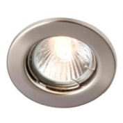 Robus Straight Spring Loaded Enclosed GU/GZ10 Downlight