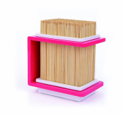 Cookut Bamboo Knives Holder, Pink