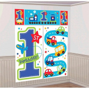 All Aboard First Birthday Scene Setters Kit