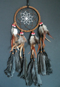 TRADITIONAL BROWN DREAM CATCHER