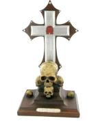 Non Ominus Morair Skull Alchemy Incense Holder Gothic Horror