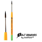 BOLT Face Painting Brushes by Jest Paint - FIRM Liner #4