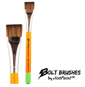 BOLT Face Painting Brushes by Jest Paint - FIRM 1.9cm Stroke