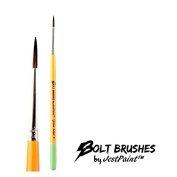 BOLT Face Painting Brushes by Jest Paint - FIRM Liner #3