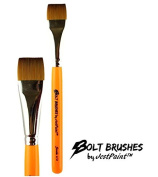 BOLT Face Painting Brushes by Jest Paint - 1.9cm Stroke