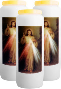 3x The Divine Mercy candle of Events