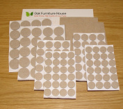 Large Self-Adhesive Felt Wood Floor Protectors Bundle Variety Pack