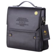 POLO VIDENG® M336 Top Leather RFID Block Briefcase Shoulder Messenger Business Bag From Italy Design
