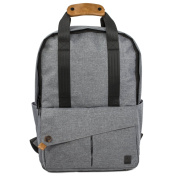 ALLCAMP Canvas Backpack MEN Laptop Bag Fits Most 38cm Laptop