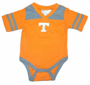 NCAA Officially Licenced Tennessee Volunteers Embroidered V-Neck Bodysuit Romper Creeper Crawler