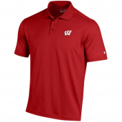 Under Armour Wisconsin Performance Golf Polo