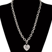 NFL Necklace with Heart Charm Jewellery Card
