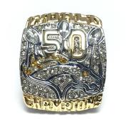 2015 Denver Broncos Super Bowl 50 Ring Peyton Manning
