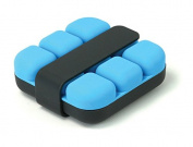 Cookut Cube Ice Tray with Tongs, Blue