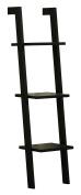 Orolay Modern Wall Ladder Shelf Storage Display Shelving Rack 3 Tiers