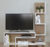 MIMOSA Wall Unit - TV Lowboard - TV Stand - Living room furniture set in modern design