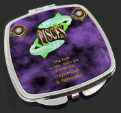 Pisces Star Sign Birthday Gift Make-Up Compact Mirror Stocking Filler Gift