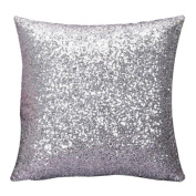 Pillow Cases, Rcool Solid Colour Glitter Sequins Throw Pillow Case Cafe Home Decoration Cushion Covers