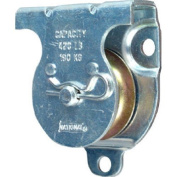 Stanley National Hardware 3219BC 1-1/2 Zinc Plated Wall/Ceiling Mount Single Pulley by National Hardware