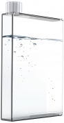 "Asobu ADPB10CL 12.1 x 3.2 x 20 cm 475 ml ""E High Fashion"" See Through Hip Flask/Bottle, Clear"
