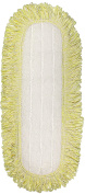 CleanAide Coral Weave Microfiber Mop Pad with Rope Border 60cm Yellow