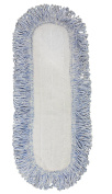 CleanAide Coral Weave Microfiber Mop Pad with Rope Border 60cm Blue