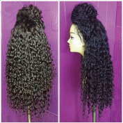 Lace Front Wigs For Black Women Synthetic Long Curly Wigs With Baby Hair Heat Resistant Cheap Glueless Lace Front Wigs