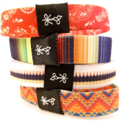 Hair Ties For Guys | Superior, No-Rip, No-Slip Hair Ties for All Hair Types | 'The Adios Banditos' South of the Border Collection