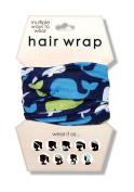 Spoontiques Whales Hair Wrap