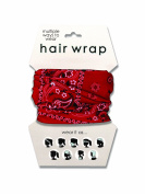 Spoontiques Red Bandana Hair Wrap