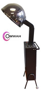 Omwah Standing Professional Hair Salon Adjustable Conditoning Styling Spa Hooded Dryer with Detachable Wheels