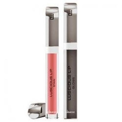 Doucce Dual Luscious Lip Stain & Lip Gloss, 610 Dusty Red, .1240ml