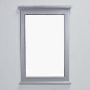 Eviva EVMR709-24GR Elite Stamford Grey Full Framed Bathroom Vanity Mirror Combination