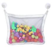 Doober Newborn Baby Bath Toy Suction Cup Tidy Storage Net Bag Mesh Bathroom Organiser